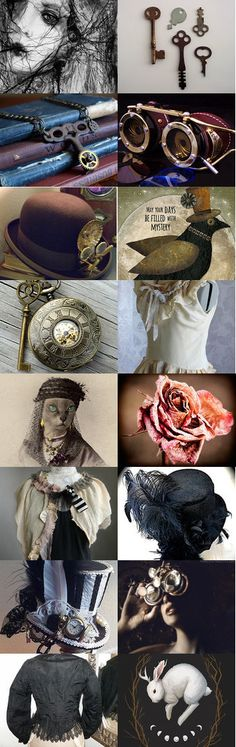 The Mystery of the Missing Keys by Linda Voth on Etsy--Pinned with TreasuryPin.com
