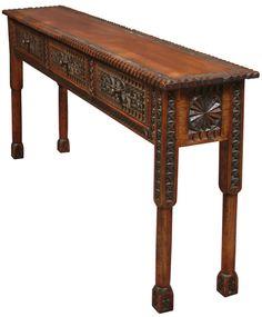custom African sofa table vermontwoodsstudios.com