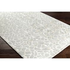 Alcott Hill Silvera Hand-Tufted Gray/Neutral Area Rug Rug Size: 5' x 7'6""