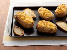 Twice Baked Potatoes recipe from Food Network Kitchen via Food Network