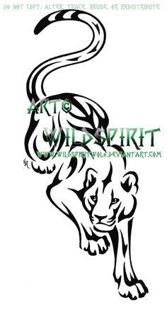 fairy black panther tattoos,tribal tattoo design,angle tattoos:I am looking