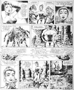 Jean-Claude Mezieres - Valerian et Laureline #10 - Brooklyn Station - Terminus Cosmos, Planche 43
