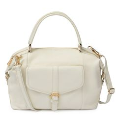 Hannah Satchel in Gardenia