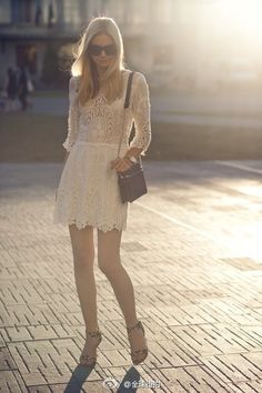 lace dress. LOVE THIS <3