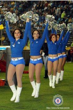 Bellas Celestes Del Cruz Azul