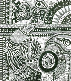 Doodle III, 8X10 Print