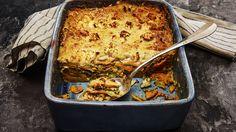 Lasagne med søde kartofler og pesto - Lurpak
