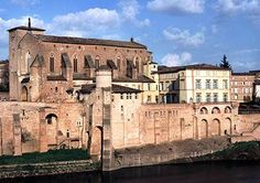 Abbey in Gaillac, France. This town was near where we lived and we went to their local winery to get great terroir reds.