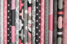 This is an adorable quilt top kit for a baby girl. The finding of the fabrics is all done for you and they are beautiful! The colors are pink and