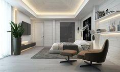 100 Most Popular Bedroom Design Ideas for 2019 & Stylish Bedroom Apartment Interior Design, Interior Design Living Room, Design Bedroom, Accent Wall Designs, Sweet Home Design, Estilo Interior, Stylish Bedroom, Awesome Bedrooms, Home Decor Bedroom
