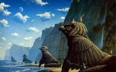 [Image] | Roger Dean - TIMEWHEEL