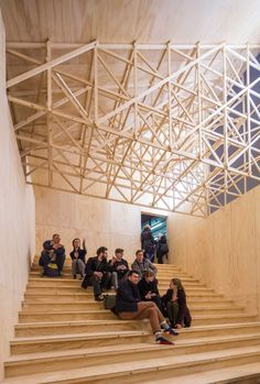 Black Maria Temporary Performance Pavilion by GRUPPE // London.