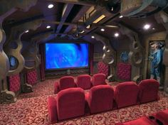 Home Theaters Taken To The Next Level - 15 Pics