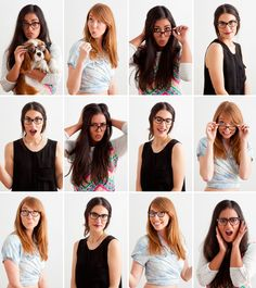 Great make-up tips for glasses wearers