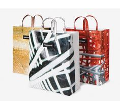 Limited Art Edition of FREITAG bags are made from exhibition banners.