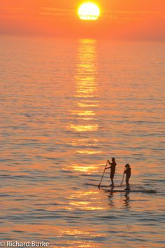 Every night the sunsets at the beach would bring something a little different. On windy nights the surfers were out and the whipping wind provided photographic challenges. But calm nights would bri…