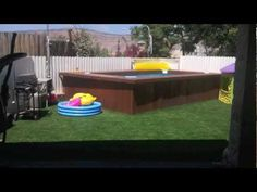 Decks for intex pools intex pool and deck how to save - How to build a swimming pool yourself ...