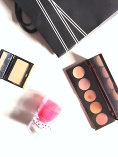 Space-nk-haul-beauty-makeup-beauty-blender-sponge-becca-ombre-rouge-eye-palette-eyeshadow-kevin-aucoin-sculpting-powder-light