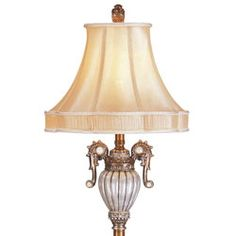 @Overstock.com - Opal Floor lamp - Enhance your home decor with this beautiful Opal floor lampThis floor lamp features an antiqued pearl finish with a detailed faux silk shadeThis lamp will add elegance and style to any room  http://www.overstock.com/Home-Garden/Opal-Floor-lamp/2663274/product.html?CID=214117 $106.62