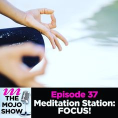 Choo-choo! Were pulling into #Meditation Station this week for a look at two sides of the coin of our FOCUS.   Get a meditation on one aspect of focus on the blog and another take on sharpening our focus right here on the show.   Put your meditation caps on and find some focus over at http://ift.tt/1Tcyk3m (active link in our bio).   #mymojoyoga #themojoshow #mojolife #focus