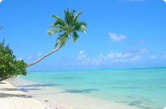 La plage de Tahiti à Saint Tropez (Var)