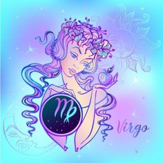Want to read more about what to expect from your 2020 horoscope, Virgo? Discover your yearly free astrology forecast. Virgo Art, Zodiac Signs Virgo, Sagittarius, Virgo Symbol, Signo Virgo, Astrology Forecast, Yearly Horoscope, Fairy Tail Gray, Lucky Colour