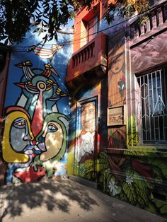 Grafitti  .Victor Jara Foundation.Santiago de Chile.