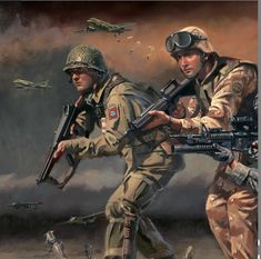 Military Units, Military Gear, Military Personnel, Military Army, Military History, Arte Zombie, Airborne Army, Ddr Museum, Military Drawings