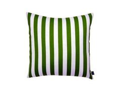 Green Stripe - 18X18 Indoor / Outdoor Throw Pillow