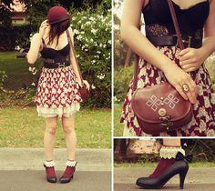 My feet are wearing petticoats too (by Annika Victoria) http://lookbook.nu/look/2766997-My-feet-are-wearing-petticoats-too