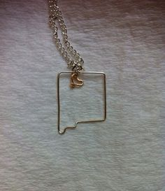 New Mexico necklace on Etsy, $15.00