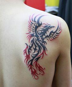 5 Phoenix tattoo