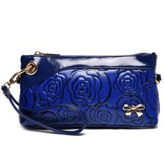 fb32d13bcc SHARE & Get it FREE | Stylish Bow and Embossing Design Women's Clutch  BagFor Fashion Lovers