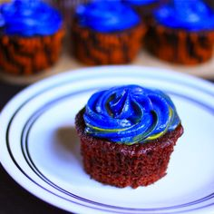Not Your Grandmama's Red Velvet (Cup)cake(s) with Cream CheeseFrosting