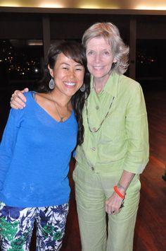 Terry Bear of Imagine a Vegan World, Honolulu 2015/4/14