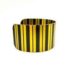 Bracelets for Women - Art Deco Jewellery - Brass Cuff Bracelet - Modern Abstract…