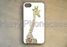 Giraffe iPhone Case,iPhone 5 case,Giraffe iPhone 5S case,iPhone 5C case,iPhone 4 case,iPhone 4S case,iphone 5 cover,Hard Rubber case