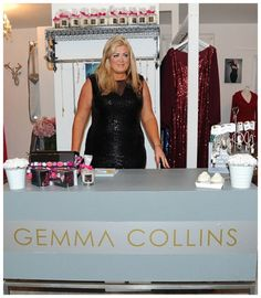 Gemma Collins Opens New Plus Size Boutique With A New Logo & Attitude To Match