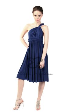 Eliza and Ethan - Multiway - Infinity - Bridesmaids Dresses - OneSize - Short MultiWrap Dress Color: Onyx Black Multi Wrap Dress, Infinity Dress Bridesmaid, Bridesmaids, Bridesmaid Dresses, Convertible Dress, Bandeau Top, One Size Fits All, Dress Making, Maternity
