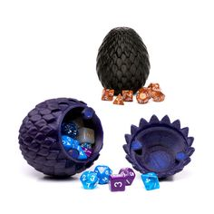 Horntail Dragon Egg Container For Dice and Other Small