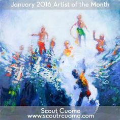 Congratulations to Scout Cuomo, our January 2016 Artist of the Month. http://www.theartlist.com/aom_01_16.html