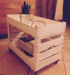 Made by me ! costozero  cassetta frutta bricolage