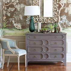 Wisteria - Furniture - Shop by Category - Dressers & Chests - Modern Gustavian Chest - $1,299.00