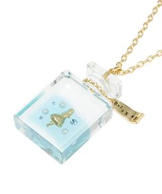 Alice-DRINK ME Necklace