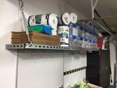 My Unistrut Shelf · MudroomShelfGarage