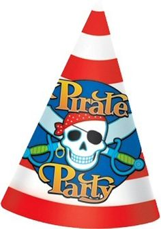 Help your guests get into the party spirit with these matching Pirates Party Hats.