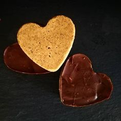 Almond Butter Protein Truffle Hearts