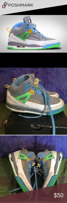 Jordan Spizike Sneakers Insides of shoes have scuffs but these were only worn 5 times. Great condition. Size 6.5 in boys. EUR 39. COMES IN ORIGINAL BOX. Air Jordan Shoes Sneakers