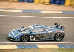 McLaren F1 GTR  #50 Giroix Racing  Le Mans '95 5th Place