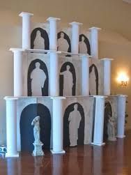ancient greece party decorations - Google Search Ancient Rome, Ancient Greece, Ancient History, Ancient Myths, Greece Party, Greece Wedding, Greek Toga, Toga Party, Rome Antique